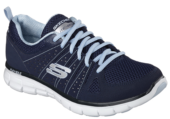 Womens Skechers Sport Synergy Look Book Navy Blue
