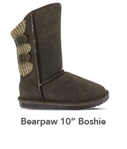 SUPER SHOES' 2018 HOLIDAY GIFT GUIDE Womens Bearpaw Boshie 10