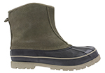 mens totes slip on duck boot tan brown