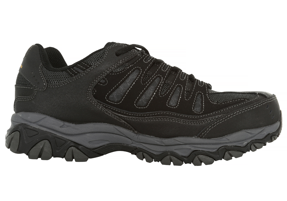 Mens Skechers Work Steel Toe EH Relaxed Fit Crankton Black