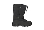 mens kamik greenbay 4 waterproof shell nylon boot black