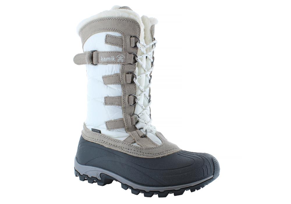 Womens Kamik Snowvalley Boot White