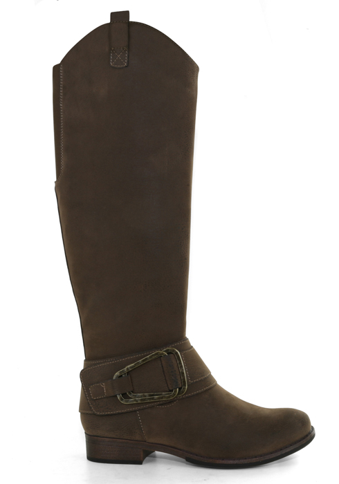 Womens Axxiom Chatham Side Zip Boot Brown