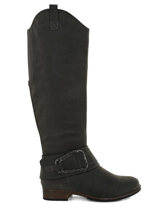 Womens Axxiom Chatham Side Zip Boot Pewter