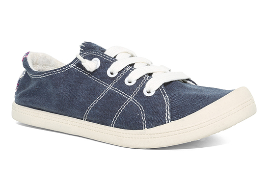 womens slip on jellypop dallas navy canvas