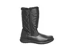 womens totes edgen side zip boot black