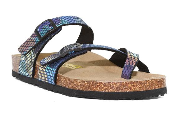 Womens Viking Tofino 2 Buckle Thong Mermaid footbed sandal