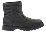men's ttoes side zip dress boot black