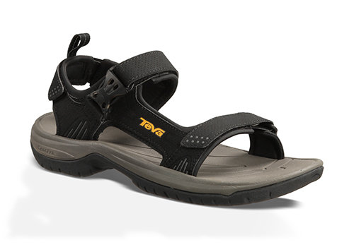 water-ready mens teva holliway river sandal black