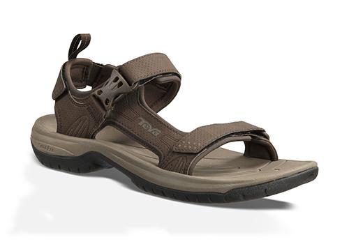 water-ready mens teva holliway river sandal brown