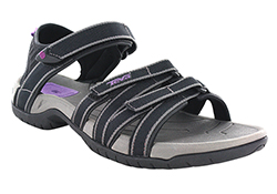 your guide to river sandals teva tirra quarter strap river sandal black and gray
