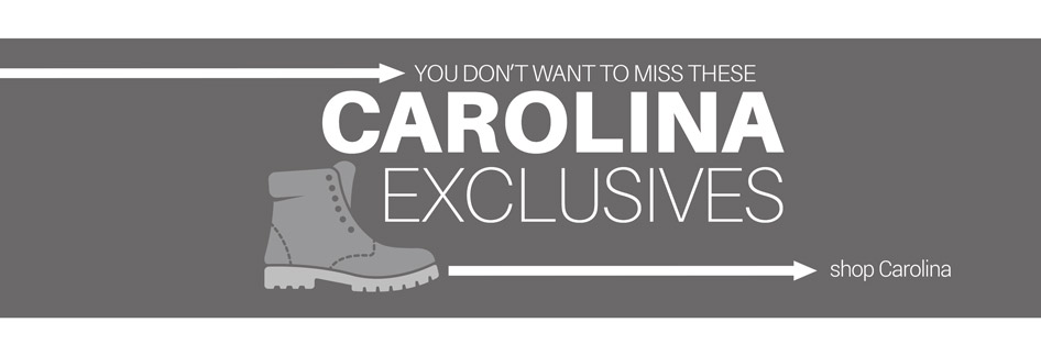 YOU DON'T WANT TO MISS THESE CAROLINA EXCLUSIVES shop Carolina