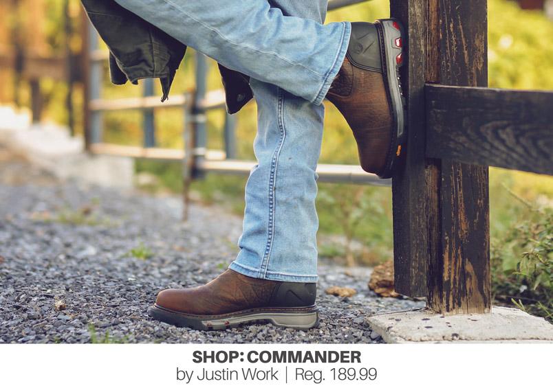 SHOP: COMMANDER by Justin Work | Reg. 189.99