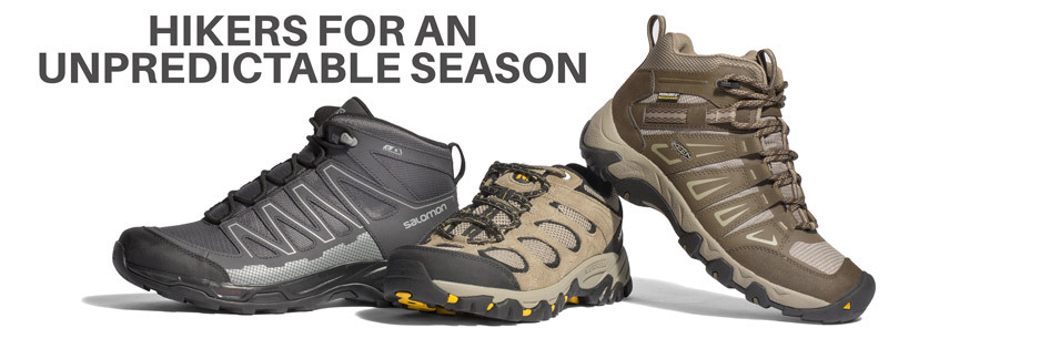 HIKERS FOR AN UNPREDICTABLE SEASON