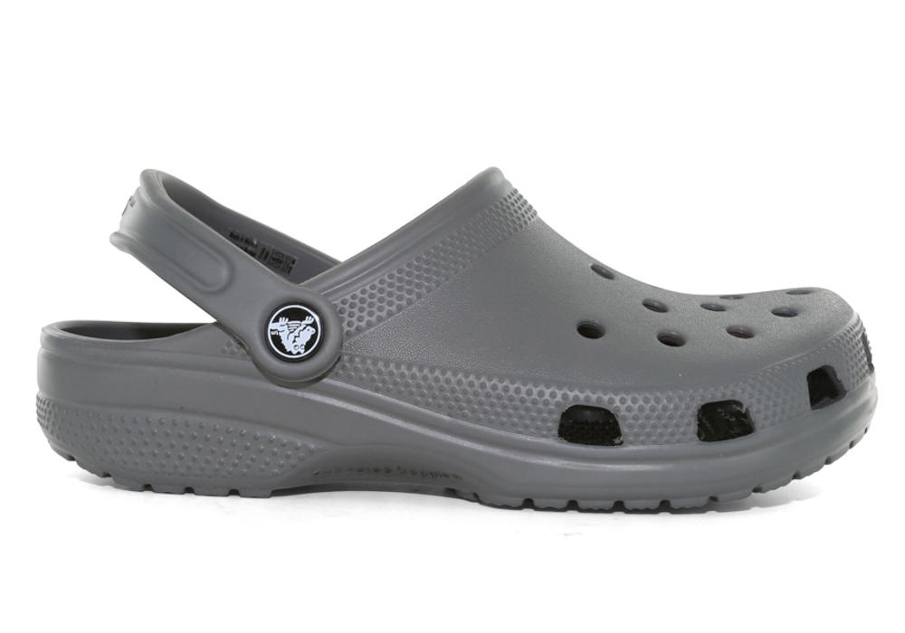 Womens Crocs Classic Clog Slate Grey