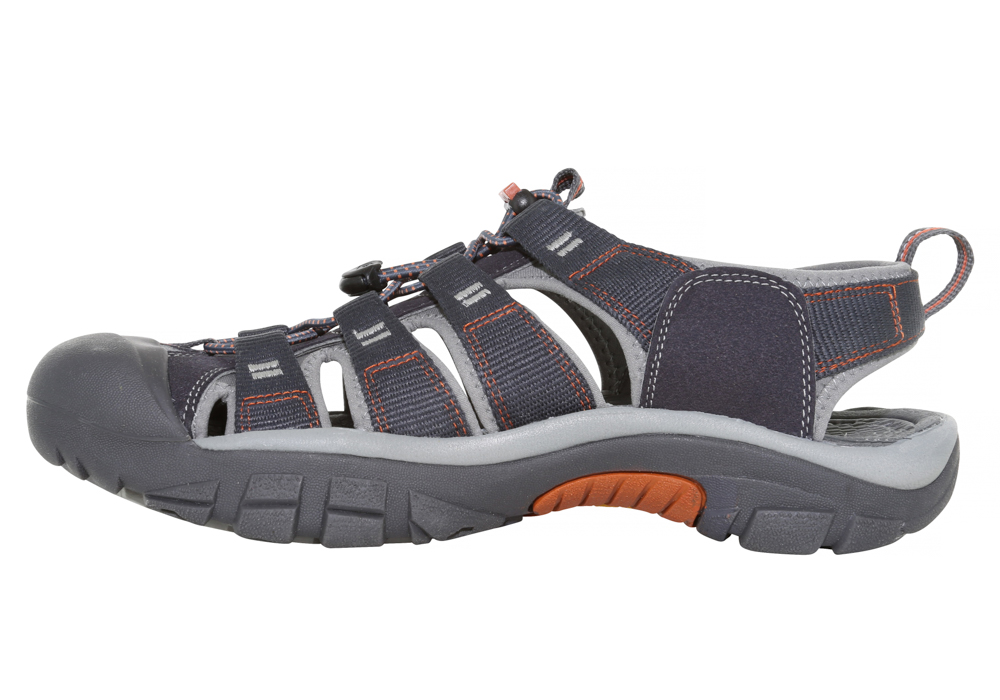 02045d50953f Mens Keen Newport H2 Watersport Sandal India Ink Rust in Blue