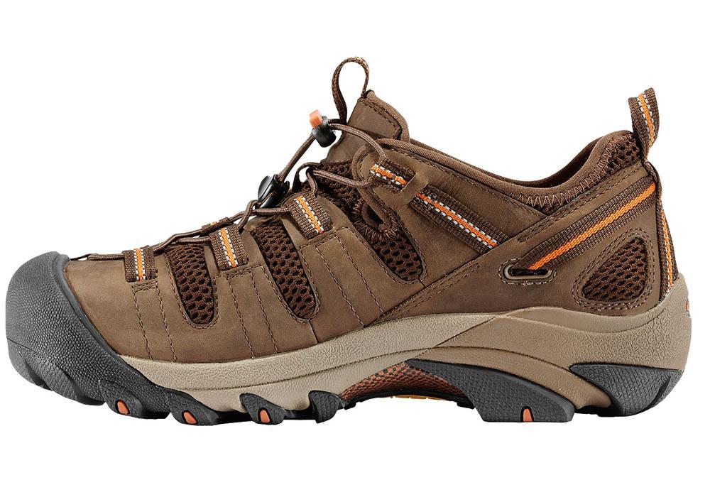 a1c410c5c10 Mens KEEN Utility Steel Toe Atlanta Low Trail Brown in Brown