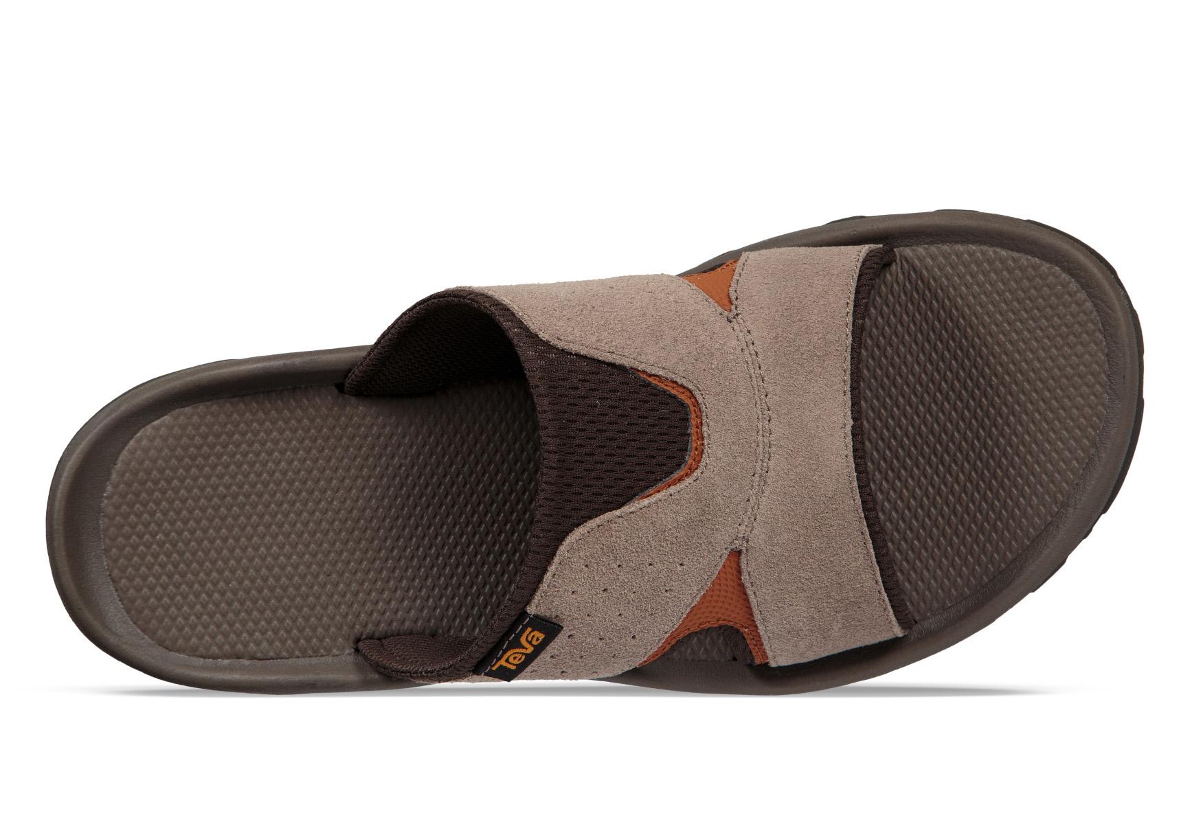 62c15ece0 Mens Teva Katavi 2 Slide Sandal Walnut in Brown