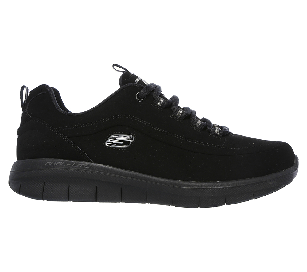 Womens Skechers Sport Synergy 2.0 Side Step Black