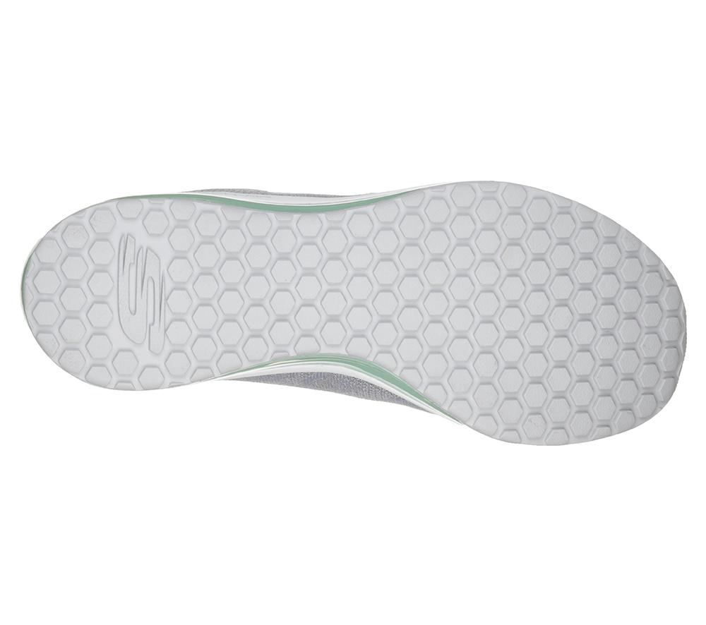 Womens Skechers Skech-Air Element Grey/Mint