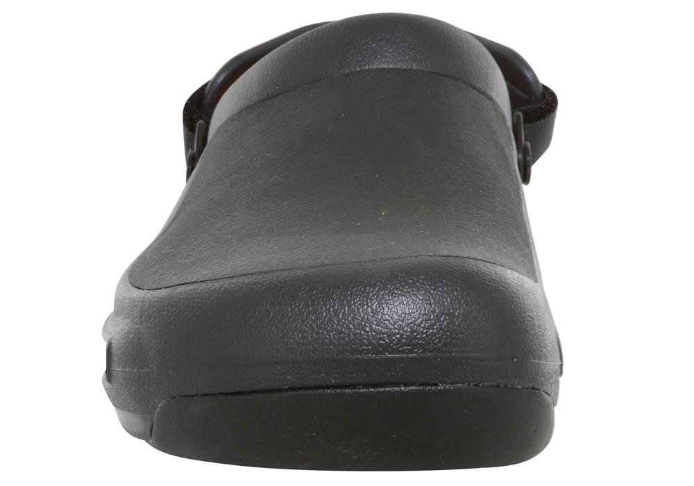 af7b47349 Mens Crocs Bistro Pro LiteRide Clog Black in Black