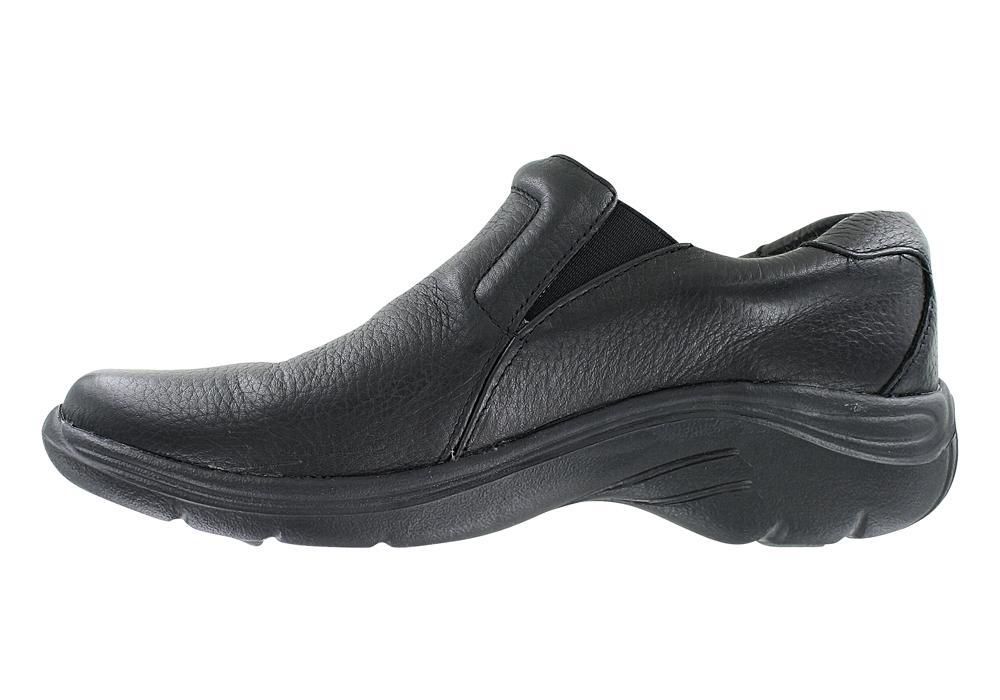 Nurse Mates Dove Slip On Nursing Shoe In Black