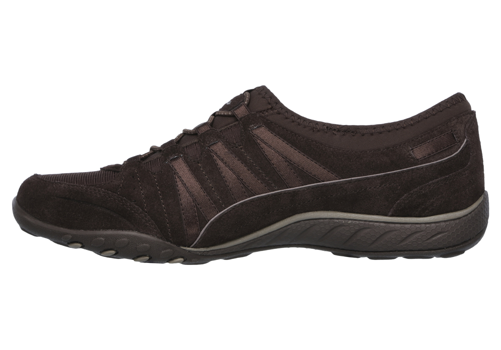 ladies brown skechers