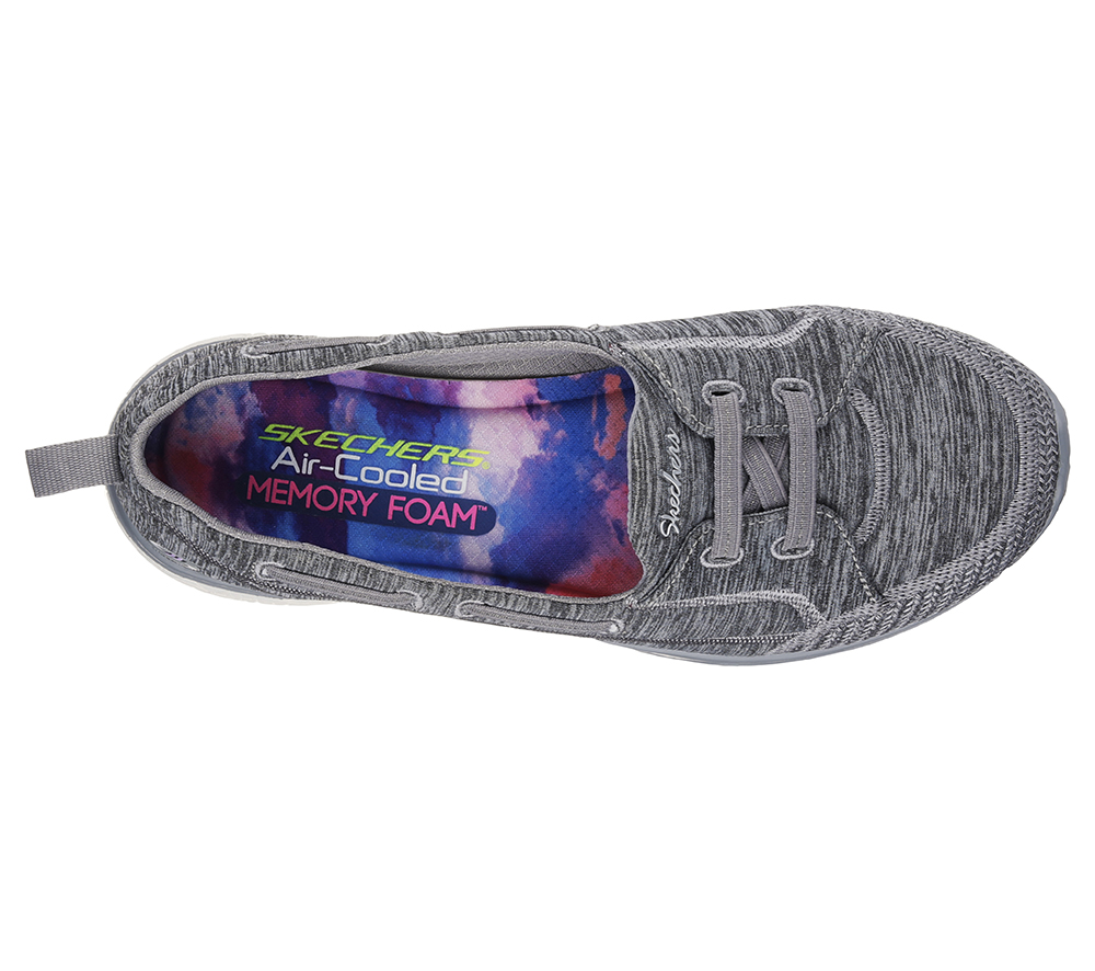 cd81fcb9ce05 Womens Skechers Sport Active MicroBurst TopNotch Grey in Gray