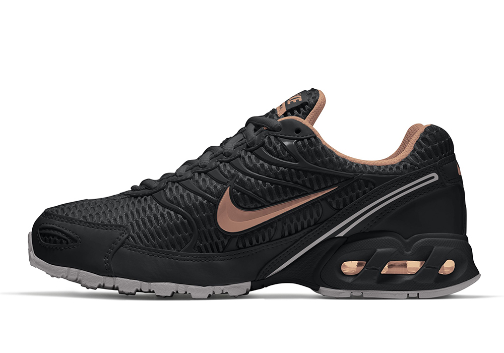 44f64604aa44c ... official womens nike air max torch 4 runner black rose gold in black  8e0a6 2459e discount code ...