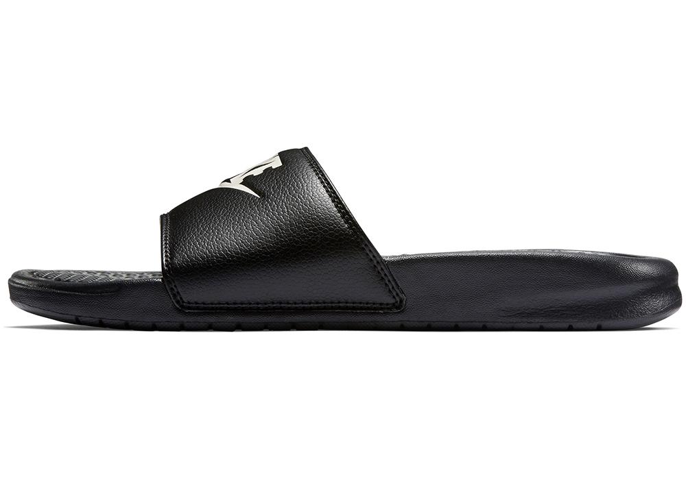 reputable site e0fbb bf7c0 Mens Nike Benassi JDI Slide Black   White in Black