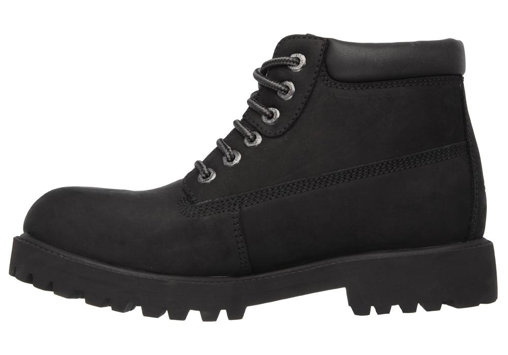 Mens Skechers Verdict Waterproof Boot Black