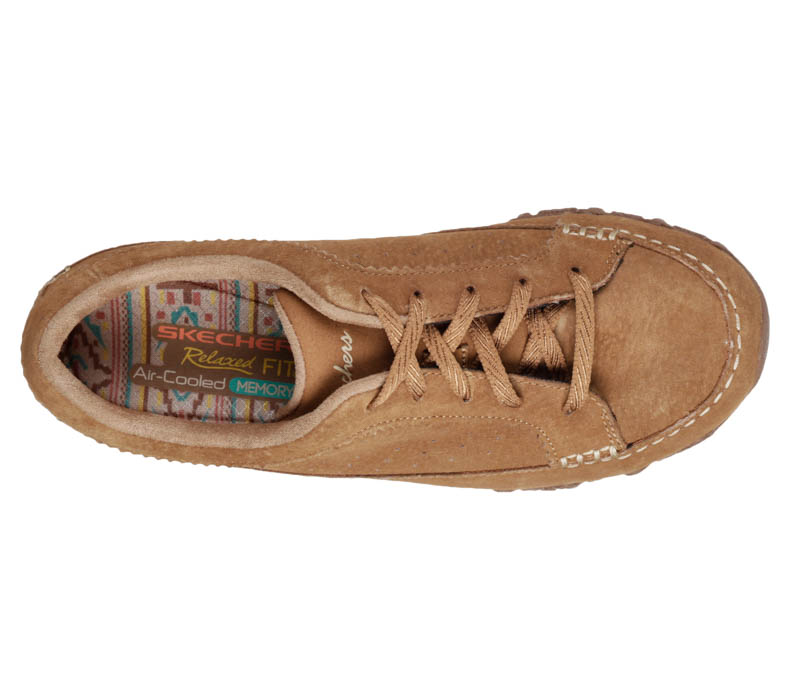 Womens Skechers Bikers Contained Oxford