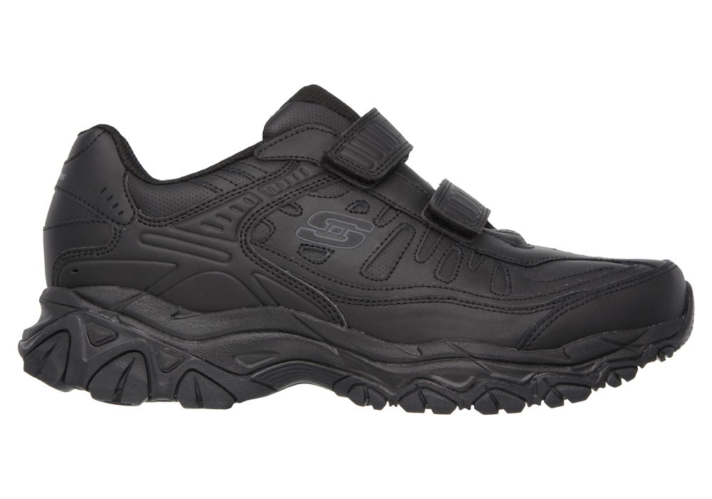 Mens Skechers Afterburn M Fit Final Cut Athletic Velcro Black