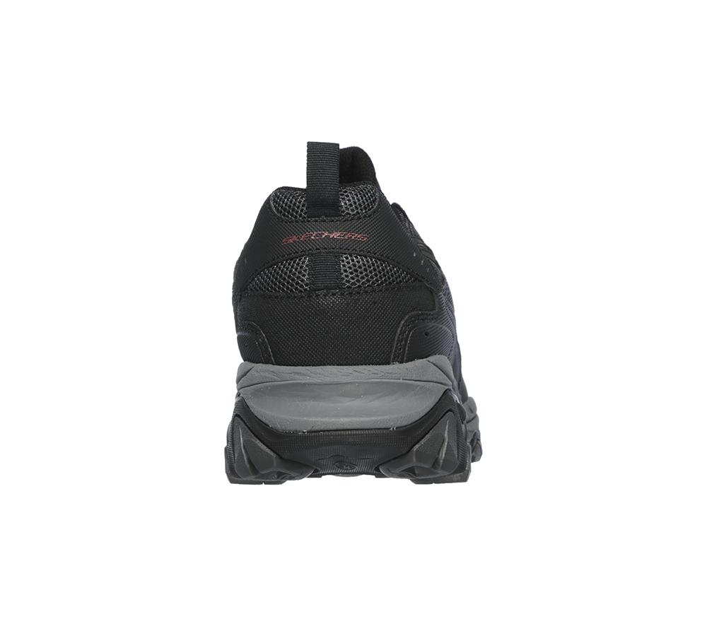 e1eb5d23257 Mens Skechers Afterburn M.Fit Slip On Black/Charcoal
