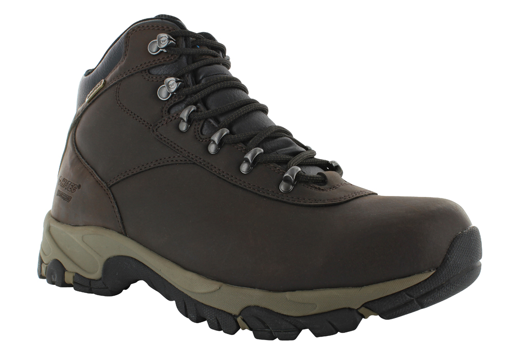 7369bee982f672 Mens Hi-Tec Altitude V i Mid Waterproof Hiker Dark Chocolate in Brown