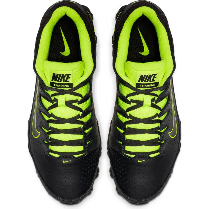 Mens Nike Reax 8 TR Trainer Black/Green