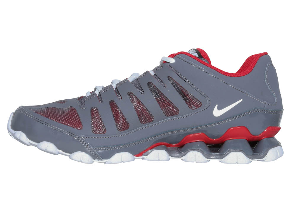 d065f2d92733 Mens Nike Reax 8 TR Trainer Gray Red in Gray