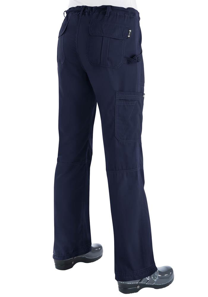Womens Koi Lindsey Pants Tall Navy