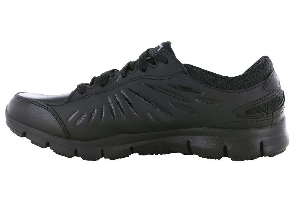Skechers Lightweight Memory Foam Gray Comfort Shoes Womens Size 7 M