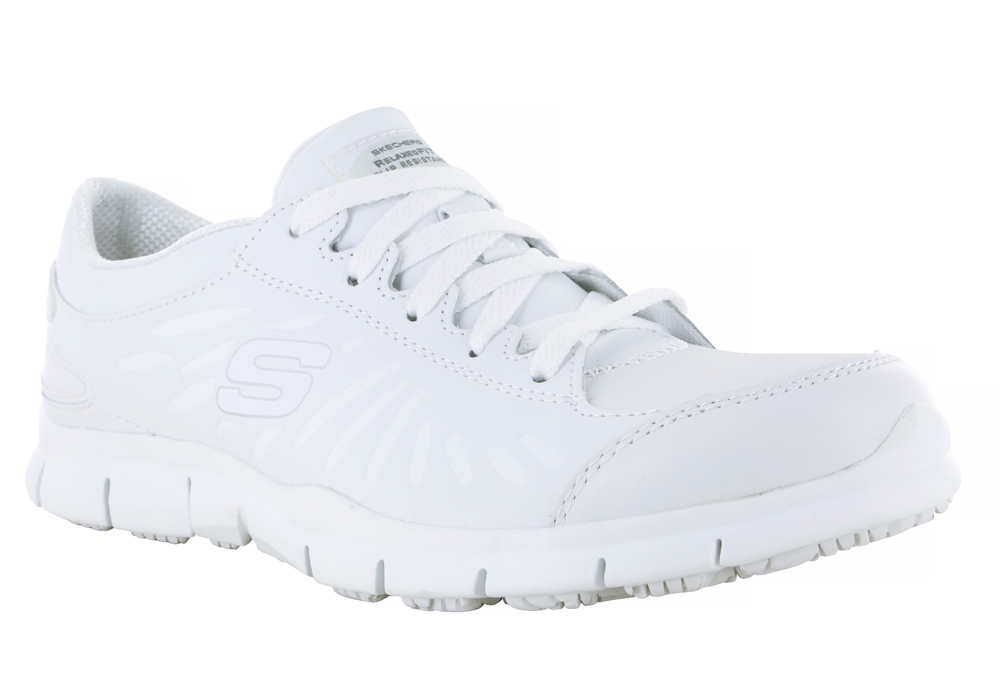 skechers memory foam no laces