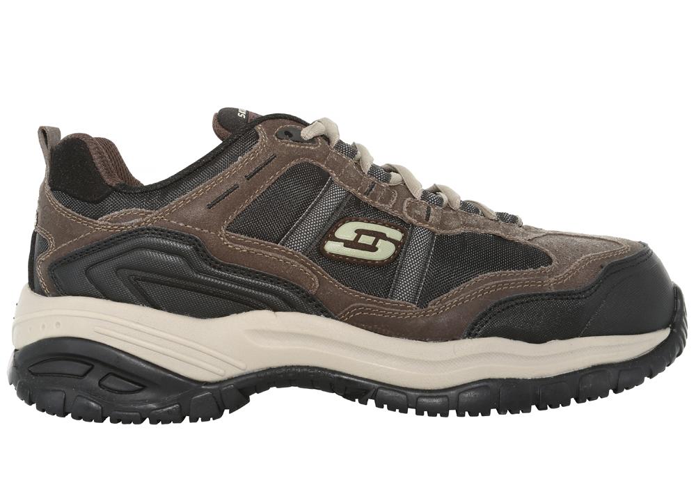 Mens Skechers Work Composite Toe Slip Resistant Eh Grinnel