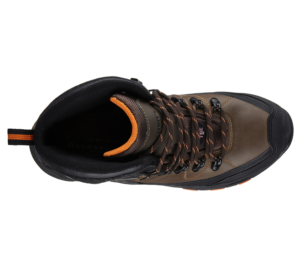 Skechers Para El Acero Resistente Al Agua Surren Bota De Trabajo Del Dedo Del Pie De Los Hombres De Trabajo I2I0whX