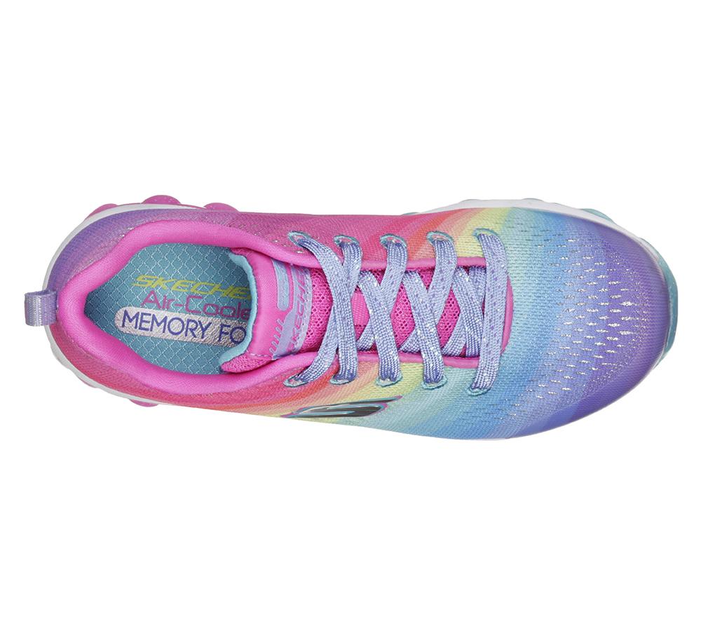 Girls Skechers Kids Skech Air Rainbow Drops Multi