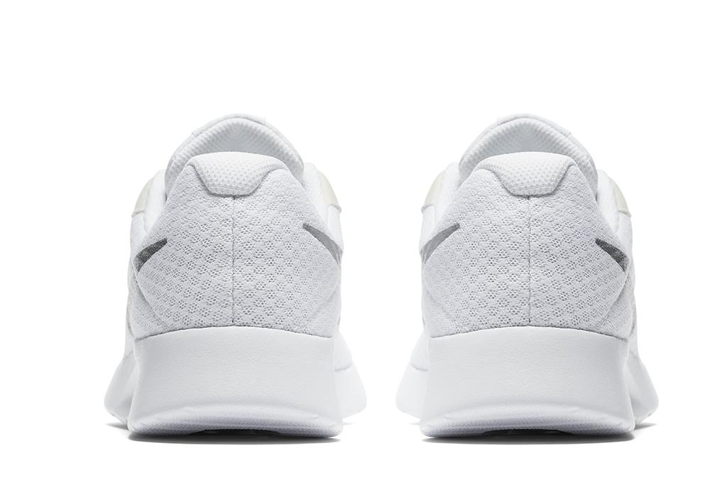 Womens Nike Tanjun Runner White Silver