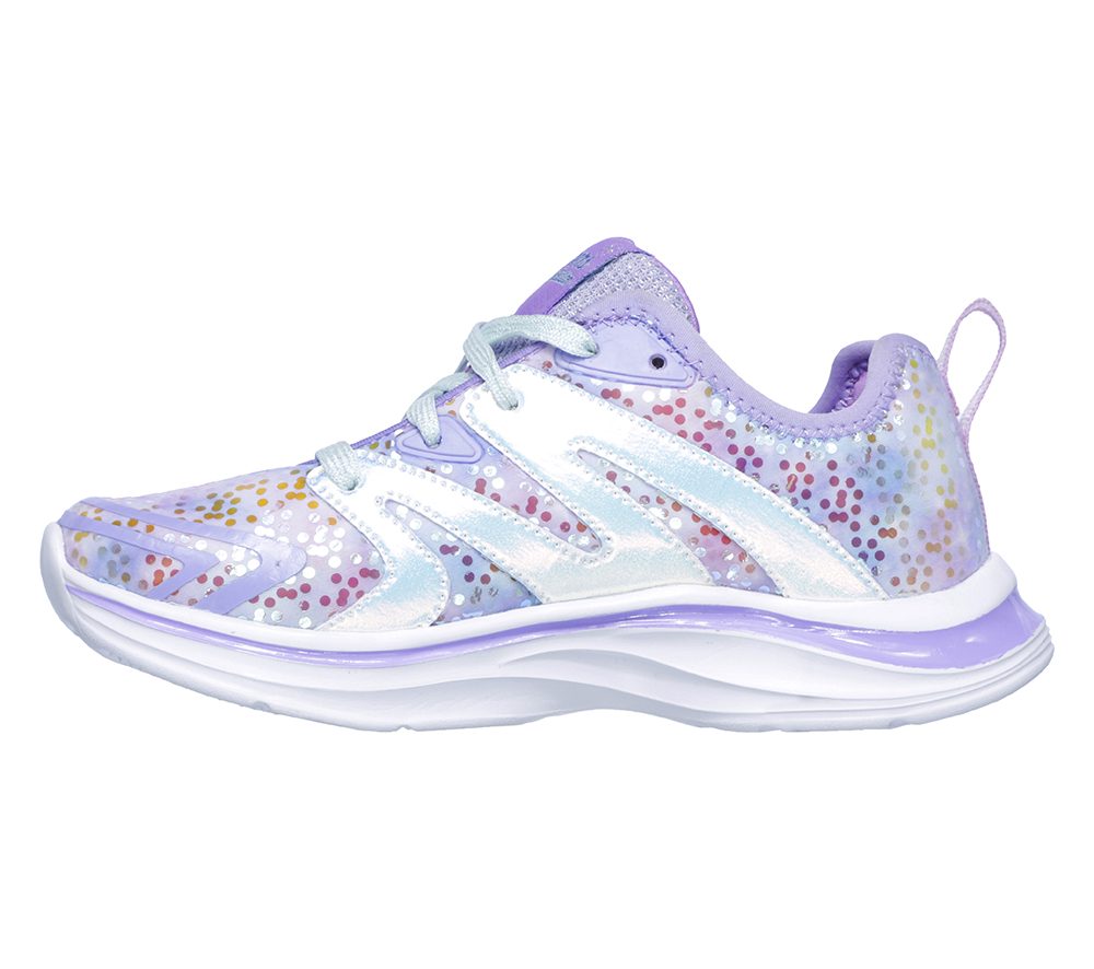 9d56c218636c Girls Skechers Kids Double Dreams Unicorn Kisses Lavender Multi in Purple