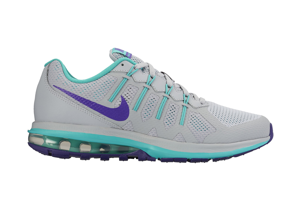 womens nike air max dynasty gray teal. Black Bedroom Furniture Sets. Home Design Ideas