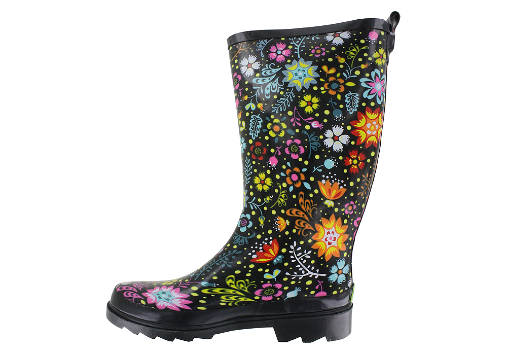 Model Rain Boots Women Size S Rubber 9 Snow Wellies Womens New Flat