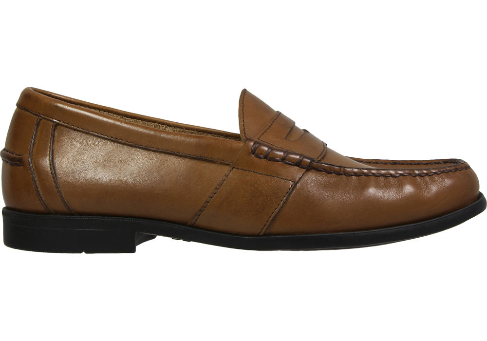Mens Nunn Bush Kent Penny Loafer Tan