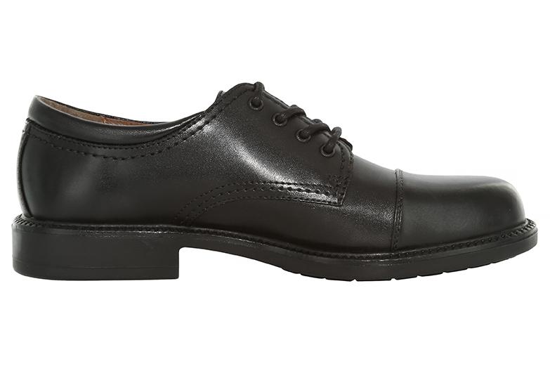 bf5cc7393ac Mens Dockers Gordon Cap Toe Oxford Black in Black