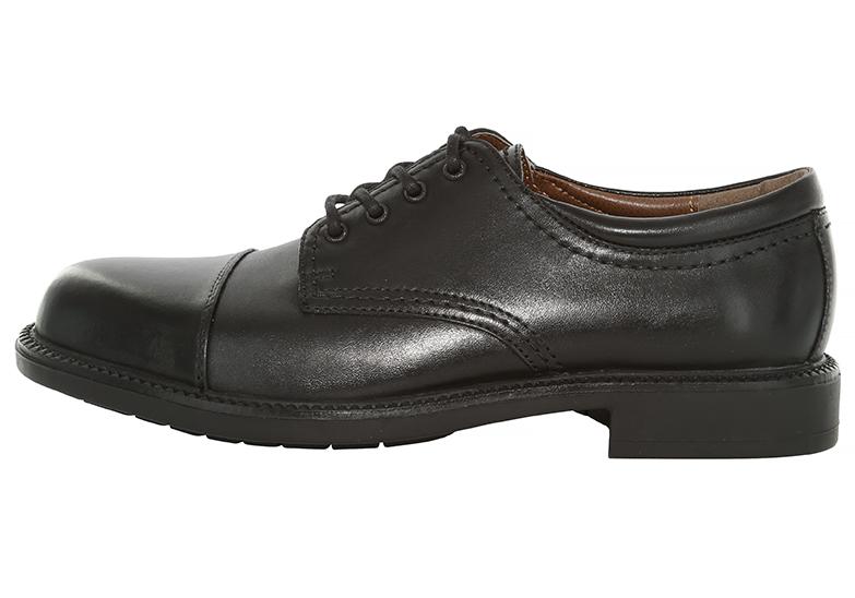 Mens Dockers Gordon Cap Toe Oxford Black in Black 9caa21bded03